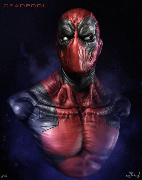 Deadpool By Cryartuk On Deviantart