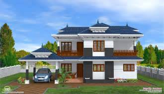 New Home Plans For 20pictures by 2 Storey Kerala Style Home Design House Design Plans