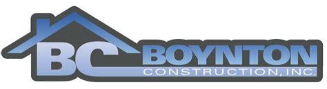 boynton construction standard features