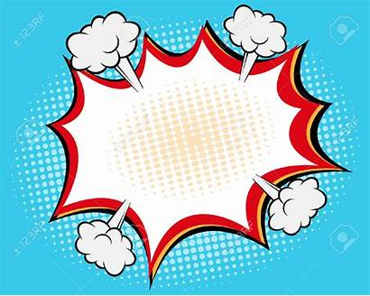 Bubble Comic Speech Pop Bubbles Background Vector