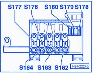 Vw Beetle 2006 Bracket Battery Fuse Box  Block Circuit Breaker Diagram  U00bb Carfusebox