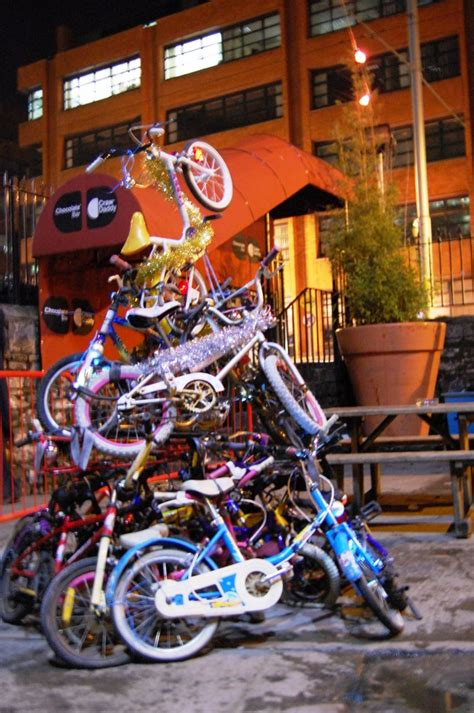 bicycle art christmas tree bicycle trees cycle the earth