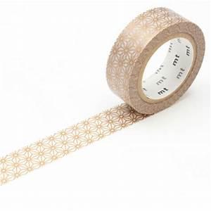 Masking Tape Doré : masking tape fleurs stylis es dor masking tape mt chez rougier pl ~ Teatrodelosmanantiales.com Idées de Décoration