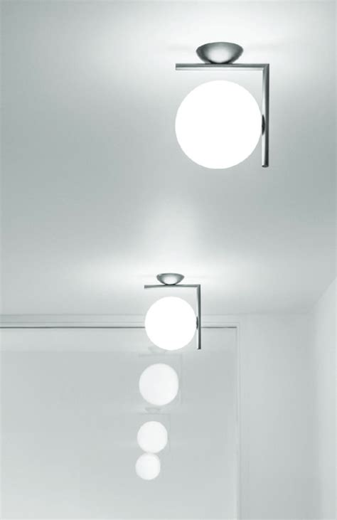 flos ic lights 200 c w1 wall or ceiling light