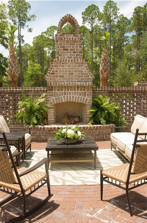 outdoor brick fireplace ideas classic cape cod home home bunch interior design ideas