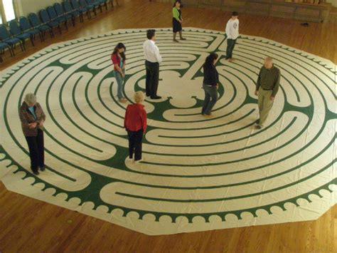 labyrinth walk   saints sunday st johns