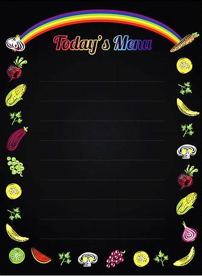 Menu Today Todays Boards Led Flashing Portrait
