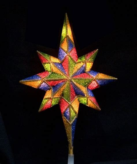 lighted christmas tree star 18 best lighted tree topper images on tree ornaments