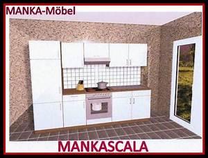 Küchenzeile 2 M : k chenzeile mankascala 2 k che 270cm k chenblock hochglanzweiss eiche m ger te kaufen bei ~ Markanthonyermac.com Haus und Dekorationen