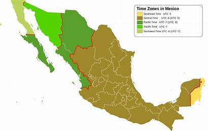 Mexico Zones Map Wikipedia Commons