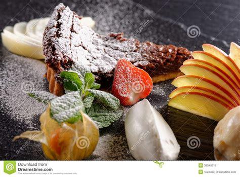haute cuisine haute cuisine dessert royalty free stock photo image