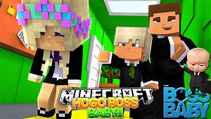 Minecraft THE BOSS BABY - HUGO TELLS BABY LEAH YOU'RE ...