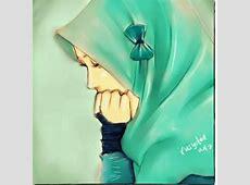 Kartun Muslimah Hijab Cadar Cekresi Jne 2018