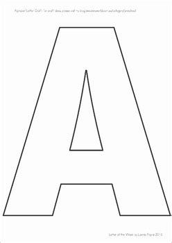 letter templates  upper   case letters