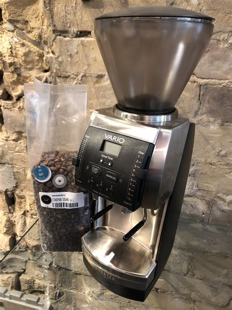 This post might help you. Baratza Vario Burr Coffee Grinder with Metal PortaHolder - Green Beanery