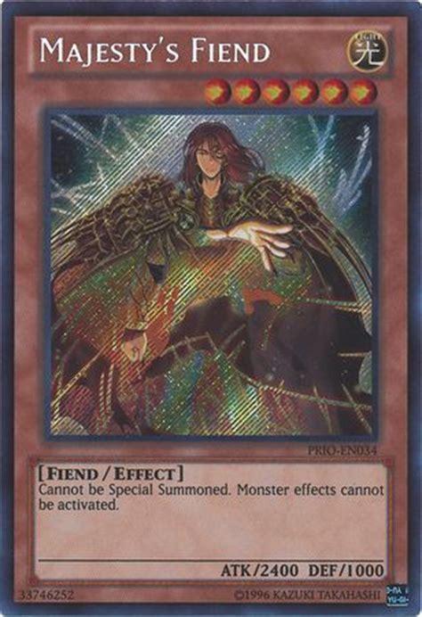 yugioh fiend deck majesty s fiend prio en034 secret unlimited