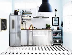 Cuisine Studio Ikea : petites cuisines ikea toutes nos inspirations marie claire ~ Melissatoandfro.com Idées de Décoration