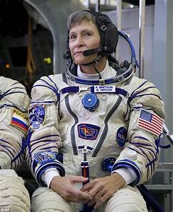 NASA astronaut becomes the oldest woman in space going to ...