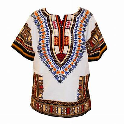 Traditional African Shirts Dashiki Cotton Printed Thailand