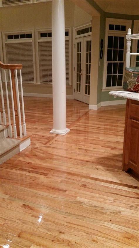 Natural finish on red oak floors   Floors I've Done