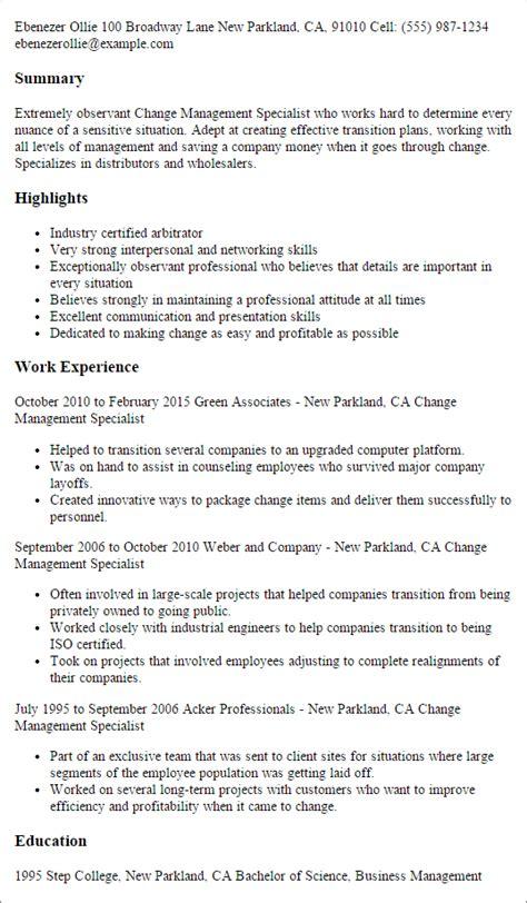 change management resume printable planner template