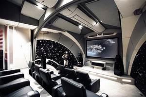 Star Wars Wandbild : star wars home theater hiconsumption ~ Eleganceandgraceweddings.com Haus und Dekorationen