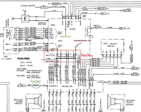 996 tt stereo wiring 6speedonline porsche forum and luxury car resource