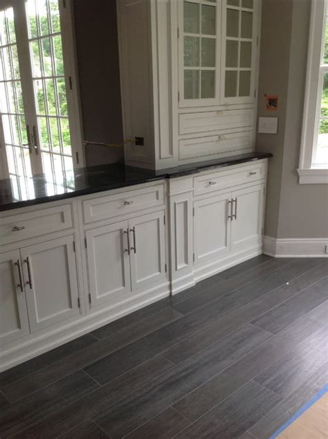 wood look porcelain tile gray   Home Decor