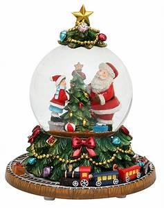 Boule De Neige Noel : carrousel boule de neige et d coration anim e de no l ~ Zukunftsfamilie.com Idées de Décoration