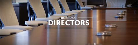 board of directors board of directors education equals opportunity