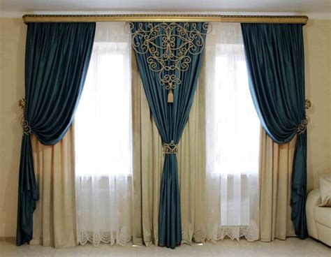 Curtains : 50 Stylish Modern Living Room Curtains Designs, Ideas, Colors