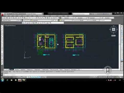 tutorial autocad   membuat gambar kerja