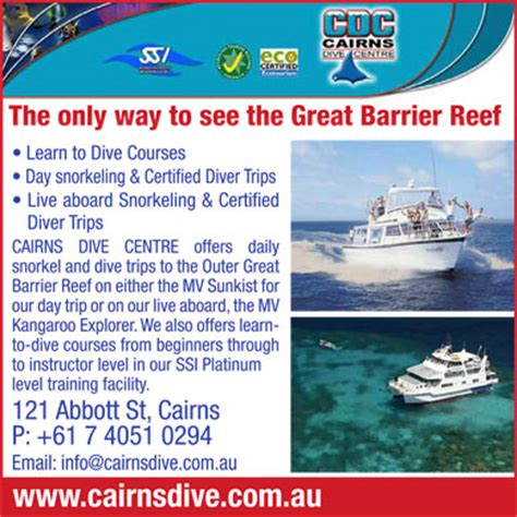 cairns top  attractions activities  cairns queensland