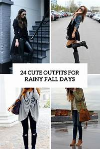 Picture Of cute outfits for rainy fall days cover