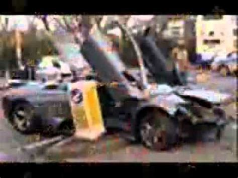 lamborghini reventon crash exclusive lamborghini reventon crash coast about 2milion