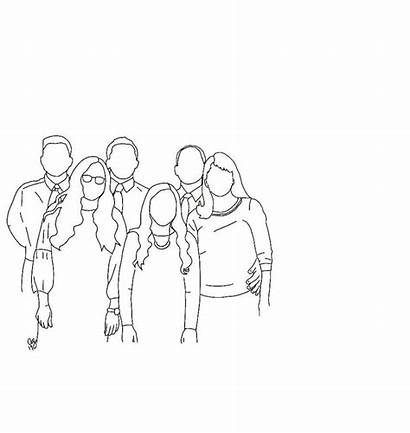 Line Drawing Minimal Drawings Custom Outline Portrait
