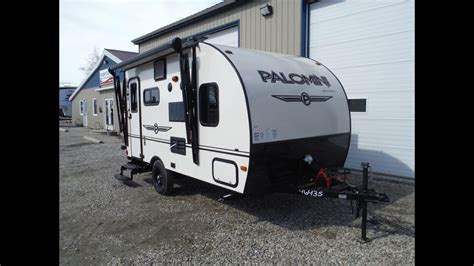palomini rbs ultra lite travel trailer  camp