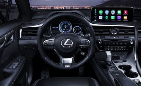 Lexus Android Auto 2020 by 2020 Lexus Rx Debuts Finally Gets Android Auto And A
