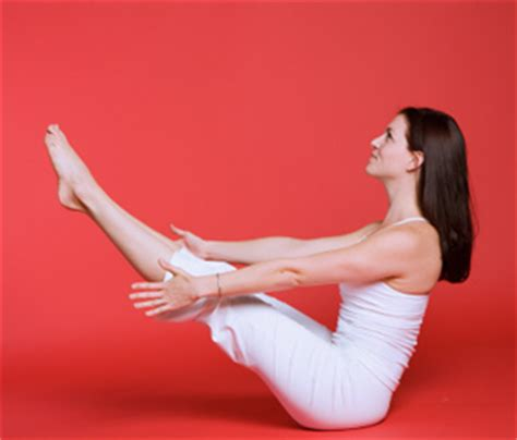 Boat Pose With A Block by How To Do Boat Pose In