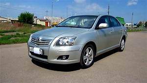2007 Toyota Avensis  Start Up  Engine  And In Depth Tour