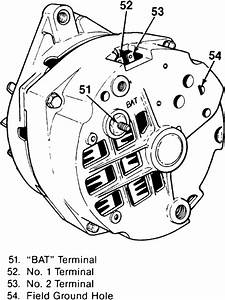 Chevy 2 Wire Alternator Diagram