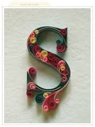 printable quilling templates letters google search