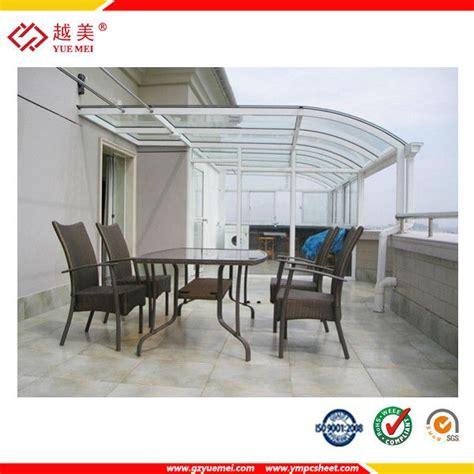 t 244 le de toiture en polycarbonate pour patio couvert