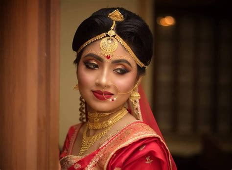 lovely locks stunning bengali bridal hairstyle images
