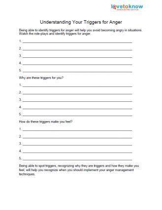 anger worksheets anger management worksheets anger