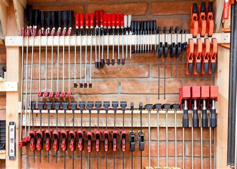 First, determine your clamp rack measurements. Clamp Rack - by DaveWatha @ LumberJocks.com ~ woodworking ...