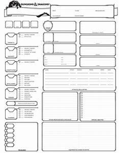 Dungeons And Dragons 5 Edition Deutsch Pdf Download : dungeons dragons 5th edition character sheet rpg character sheet rpg character sheet ~ Orissabook.com Haus und Dekorationen