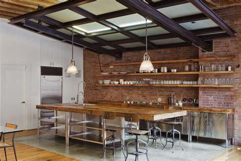 industrial style kitchen island nikkimdesign industrial rustic