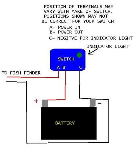 12 Volt Electrical Wiring by Wiring Accessory Toggle Switch To 12 Volt Battery