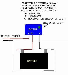 Wiring Accessory Toggle Switch To 12 Volt Battery